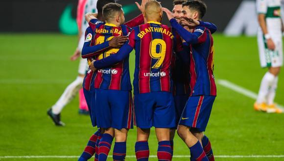 Barcelona goleó al Elche 3-0 por la fecha 1 de LaLiga. (Foto: FC Barcelona)