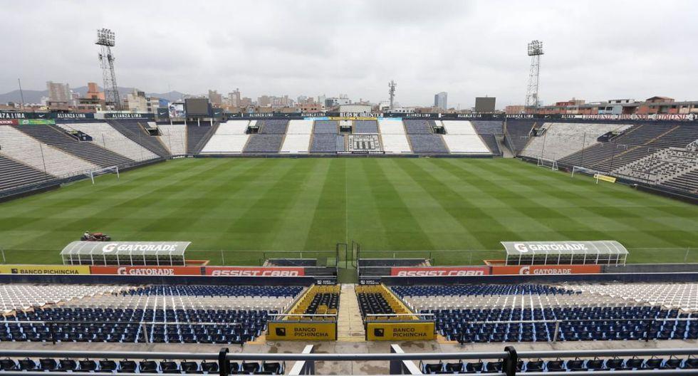 Así luce Matute para la gran final entre Alianza Lima vs. Binacional. (Foto: Francisco Neyra)