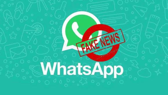 De esta forma WhatsApp pretende acabar con las noticias falsas difundidas en su plataforma de mensajería. (Foto: WhatsApp)