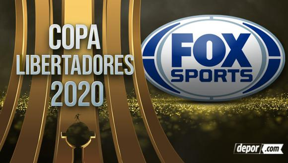 FOX Sports EN VIVO y EN DIRECTO: sigue ONLINE TV partidos de Copa Libertadores 2020. (Depor)