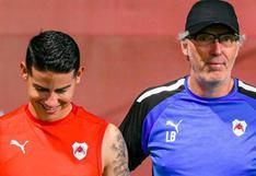 Rendido a sus pies: Xavi destacó la llegada de James Rodríguez al fútbol qatarí