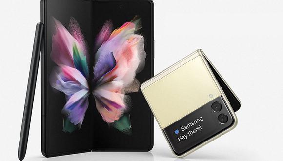 ¿Vas a comprar los nuevos celulares plegables de Samsung? Conoce cuánto costarán en Perú. (Foto: Samsung)
