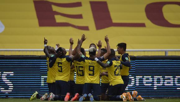 Colombia cayó goleada ante Ecuador por Eliminatorias Qatar 2022. (Difusión)