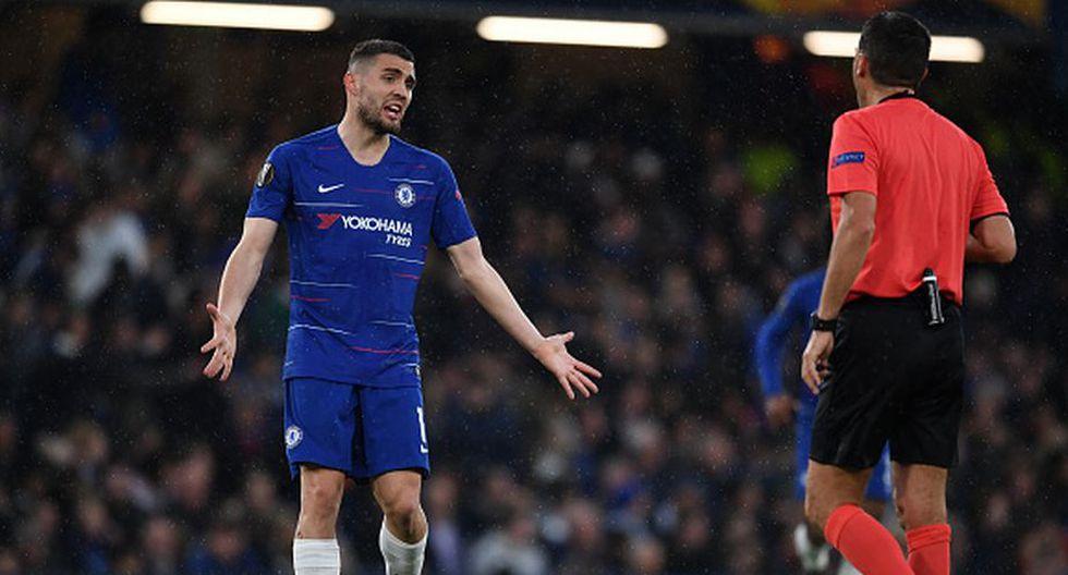 Mateo Kovacic llegó a Chelsea en modo de préstamo la temporada pasada. (Getty)
