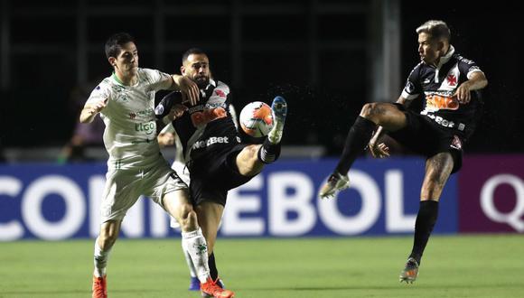 Oriente Petrolero y Vasco da Gama empataron 0-0 en Santa Cruz de la Sierra por Copa Sudamericana.