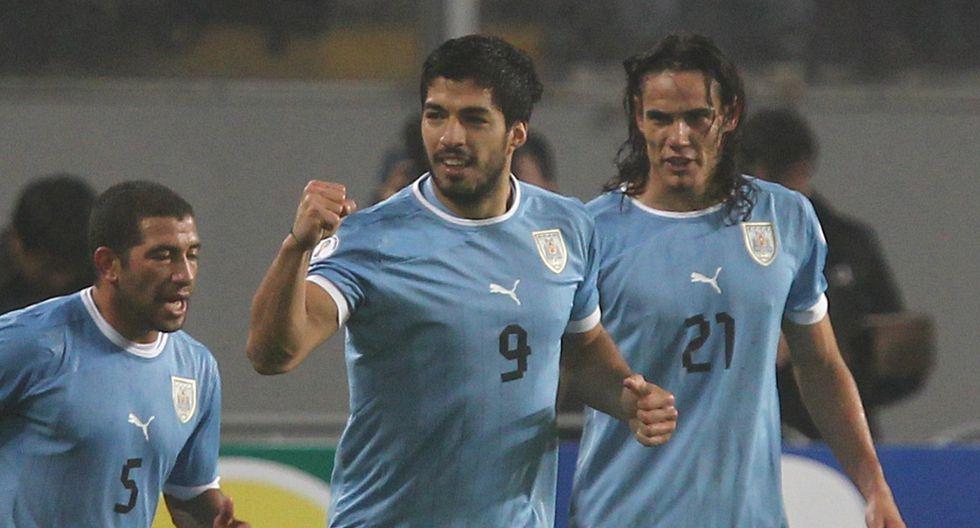 Luis Suárez y Edinson Cavani comandan la lista de la selección de Uruguay. (Foto: GEC)