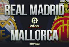 Real Madrid vs. Mallorca EN VIVO: horarios y canales TV por LaLiga 2021
