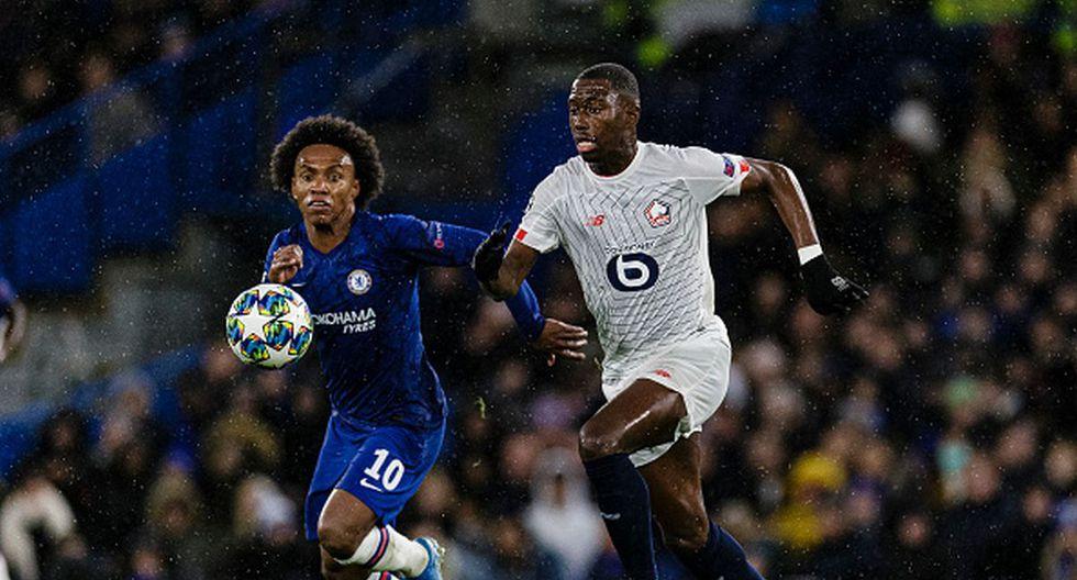 Boubakary Soumaré tiene 21 años y juega de volante en el Lille de Francia. (Getty)