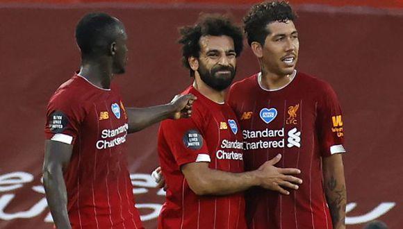 Liverpool se coronó campeón de la liga inglesa luego de 30 años. (Foto: AFP)