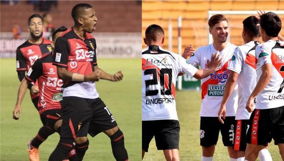 Melgar y Nacional de Potosí chocarán en la fase 10 de la Copa Sudamericana 2020.
