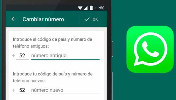 Enteráte como cambiar tu número de teléfono en WhatsApp sin perder tus contactos.