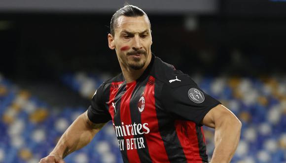 Zlatan Ibrahimovic volvió al AC Milan tras su paso por la MLS. (Foto: Reuters)