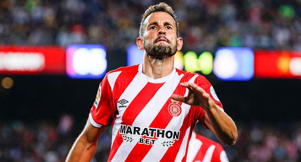 Cristhian Stuani   Girona   18 goles. (Getty Images)