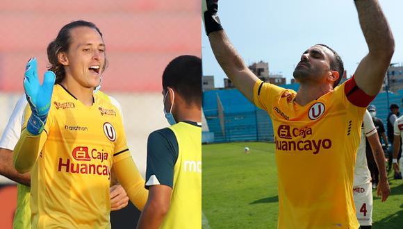 Zubczuk y Carvallo demostraron gran nivel en universitario (Foto: Liga 1)