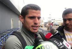 """Aldo Corzo: """"Comizzo habló en caliente, el 'profe' Gareca me puso porque en algún momento tenía que jugar"""""""