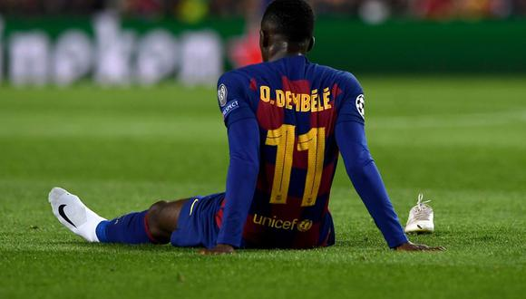 Ousmane Dembélé llegó al Barcelona en la temporada 2017/18. (Getty)