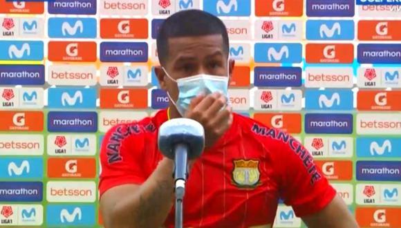Marcio Valverde acusa a juez del partido de insultarlo. (Foto: GOLPERÚ)