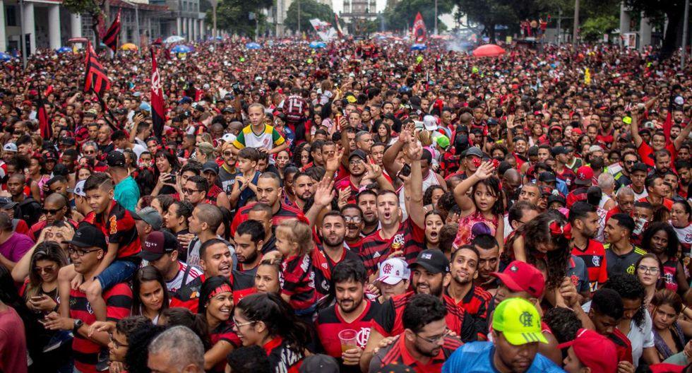 Flamengo se coronó campeón de la Copa Libertadores 2019 tras vencer 2-1 a River Plate en Lima. (Foto: AFP)