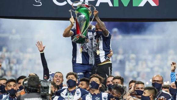 Rayados de Monterrey logró su tercera Copa MX. (Foto: Agencias)