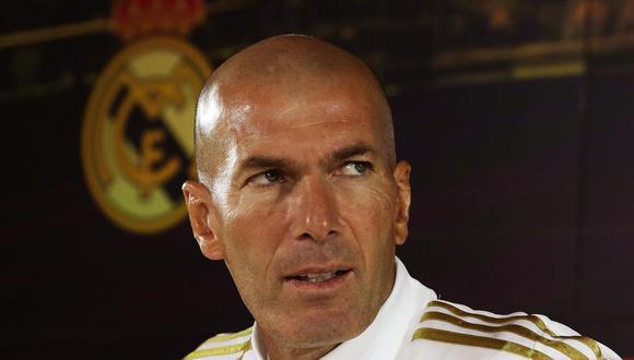 Zinedine Zidane cumple su segunda etapa como entrenador en el Real Madrid.  (Foto: EFE)