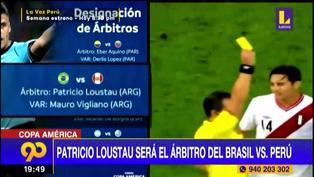 Copa América: Patricio Loustau, el arbitro designado para el Perú vs. Brasil