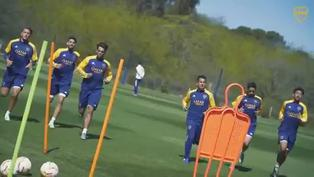 Boca Juniors se pone a punto con la mira en el regreso del fútbol en Argentina