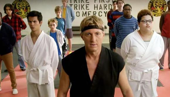 """""""Cobra Kai"""" está protagonizada por Ralph Macchio y William Zabka, repitiendo sus papeles de las anteriores películas de The Karate Kid. (Foto: Netflix)"""