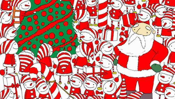 Tu misión, si decides aceptarla, es ubicar el gorro de Santa Claus en la imagen. (Foto: dudolf.com)