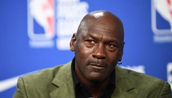 Michael Jordan habría perdido cerca de 500 millones de dólares por la pandemia. (Foto: AFP)