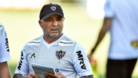 Jorge Sampaoli fue entrenador de Argentina en el Mundial de Rusia 2018. (Getty)
