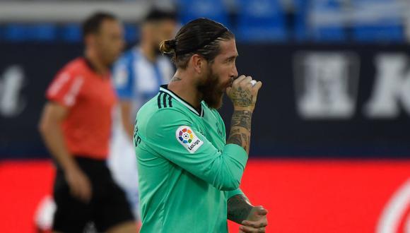Sergio Ramos lleva 11 goles en la presente temporada de LaLiga. (Foto: AFP)