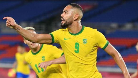 Matheus Cunha disputó los Juegos de Tokio 2020 con la Selección de Brasil. (Foto: Getty)