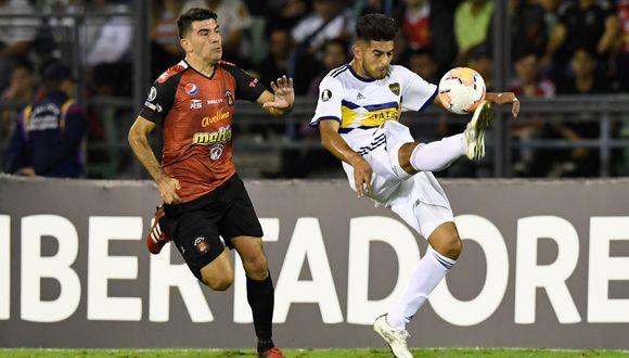 Carlos Zambrano jugó 65' ante Caracas por la Copa Libertadores. (AFP)