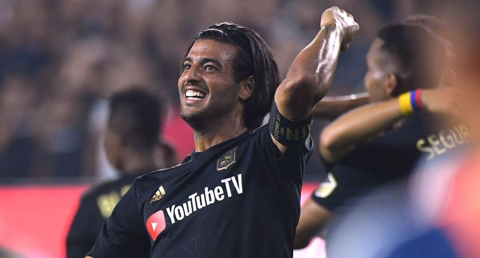 Carlos Vela ha sido la gran sensación de la MLS 2019, donde rompió el récord de goles anotados en una sola temporada. (Foto: AFP)
