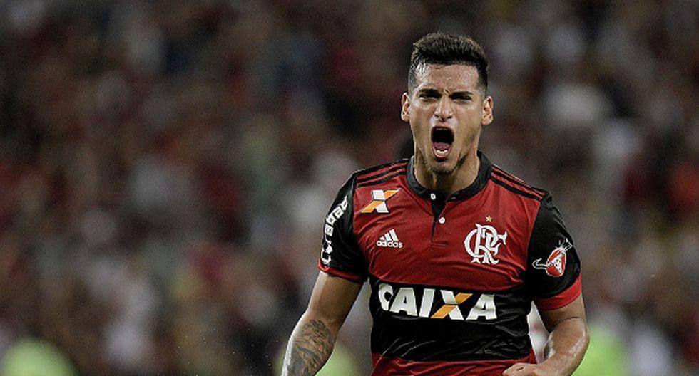 Trauco campeón de la Copa Libertadores. (Foto: Getty Images)