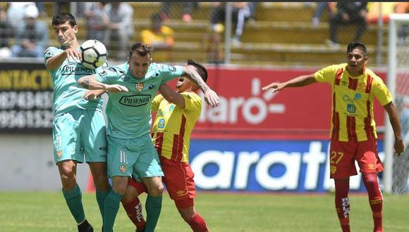Barcelona SC empató 0-0 ante Aucas. (Twitter)