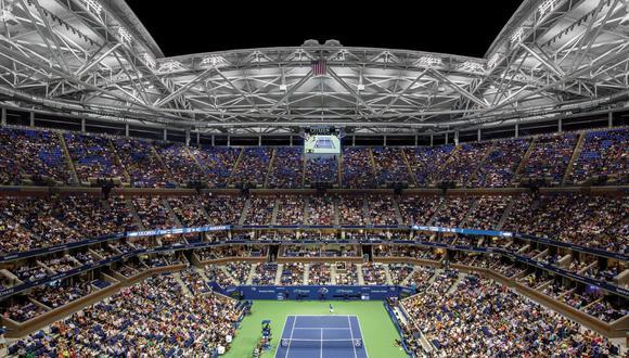 El Arthur Ashe es el estadio principal del Grand Slam norteamericano. (Foto: Steel Institute of New York)
