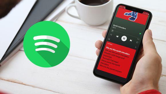 ¡Ya puedes activar las letras de tus canciones en Spotify! Aprende cómo. (Foto: Spotify)