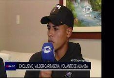 """Wilder Cartagena: """"Fueron 15 minutos de 'café cargado' con Pablo Bengoechea, que era lo que necesitábamos ante Sport Huancayo"""" [VIDEO]"""