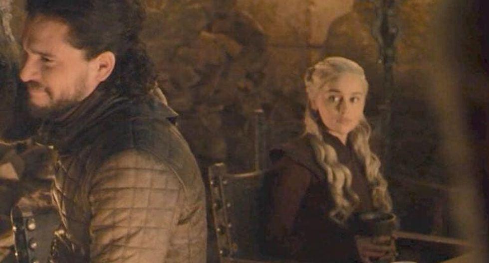 Emilia Clarke revela la verdad tras el polémico vaso que apareció en el último capítulo de Game of Thrones.(Foto: HBO)