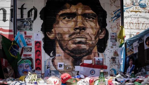 Diego Maradona falleció el 25 de noviembre de 2020. (Foto: EFE)