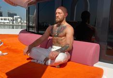 Y costó más tres millones de dólares: el lujoso yate en el que Conor McGregor llegó para su pelea en Abu Dabi [FOTOS]