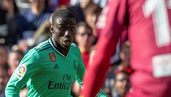 Ferland Mendy llegó la temporada pasada al Real Madrid procedente del Olympique de Lyon. (Foto: EFE)
