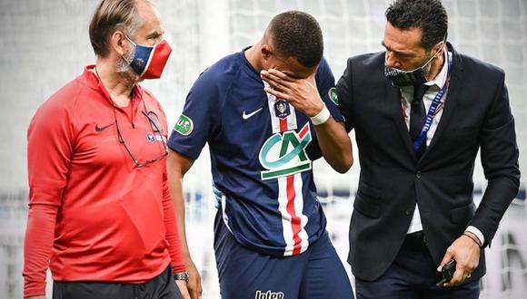 Kylian Mbappé no llegaría para jugar la reanudación de la Champions League. (Difusión)