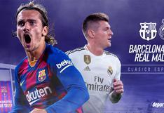 ▷ Real Madrid vs. Barcelona: ver aquí horarios y canales por Clásico de España 2021