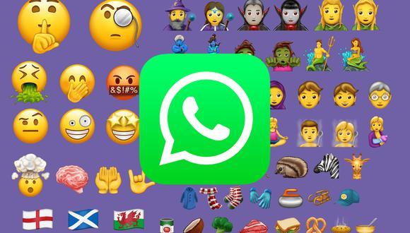 Mira cómo puedes tener los nuevos emojis de WhatsApp HOY mismo. (Foto: WhatsApp)