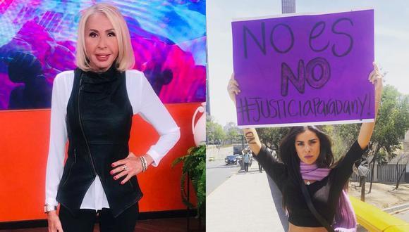 Laura Bozzo ofrece su ayuda a Daniela Berriel para continuar su denuncia contra Eduardo Ojeda. (Foto: Composición/Instagram)
