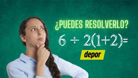 Observa con atención los elementos que componen cada ecuación e intenta resolverlo de la forma correcta. | Crédito: Composición