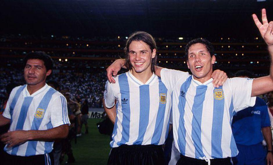 Fernando Redondo compartió la Selección Argentina junto al 'Cholo'. (Getty Images)