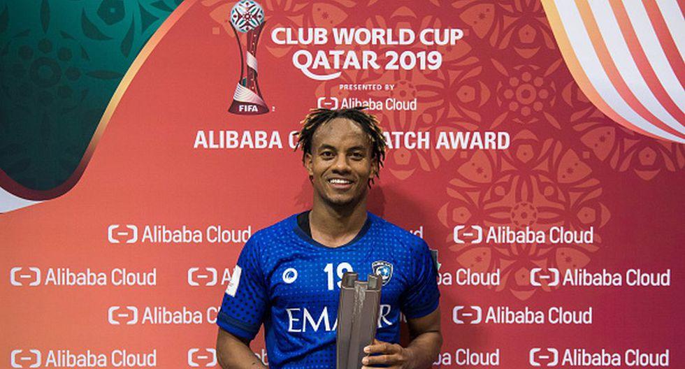 André Carrillo juega su primer Mundial de Clubes con el Al Hilal. (Foto: Getty Images)